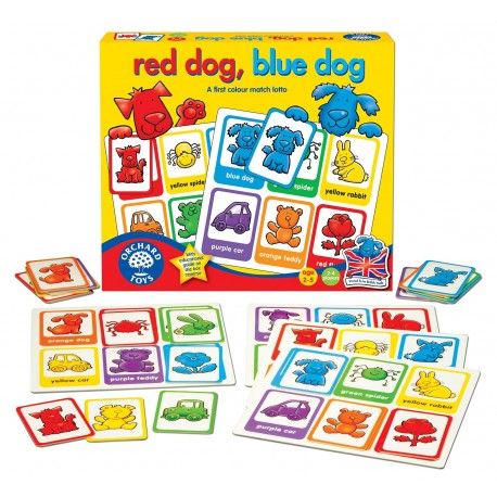 Orchard - Red Dog, Blue Dog - Juego de Ingles