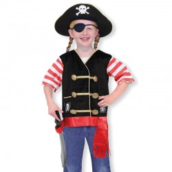 Melissa And Doug - Disfraz Pirata 3-6 años