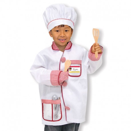Melissa And Doug - Disfraz Chef 3-6 años